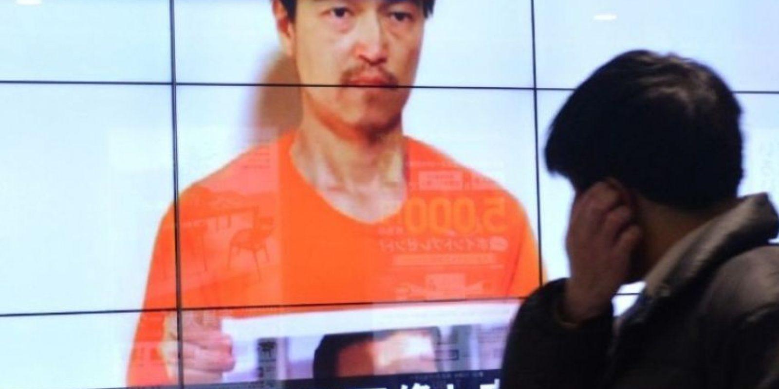 3. Ejecución de rehenes japoneses Foto:AFP