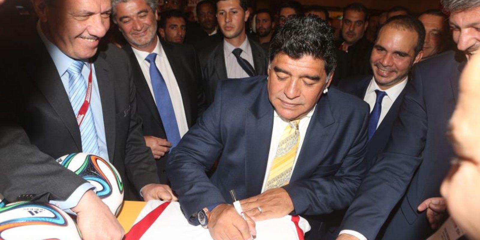 Dijo que prefería a alguien que supiera de fútbol para ser presidente de la Asociación de Fútbol Argentino (AFA). Foto:vía Getty Images