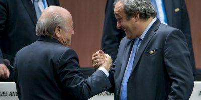 Michel Platini, presidente de la UEFA, fue uno de los principales impulsores del príncipe jordano. Foto:Getty Images
