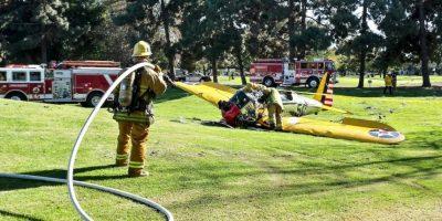 Solo sufrió algunas lesiones leves Foto:Getty Images