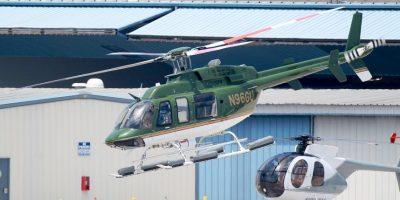 Decidió ir de copiloto en un helicóptero Foto:Grosby Group