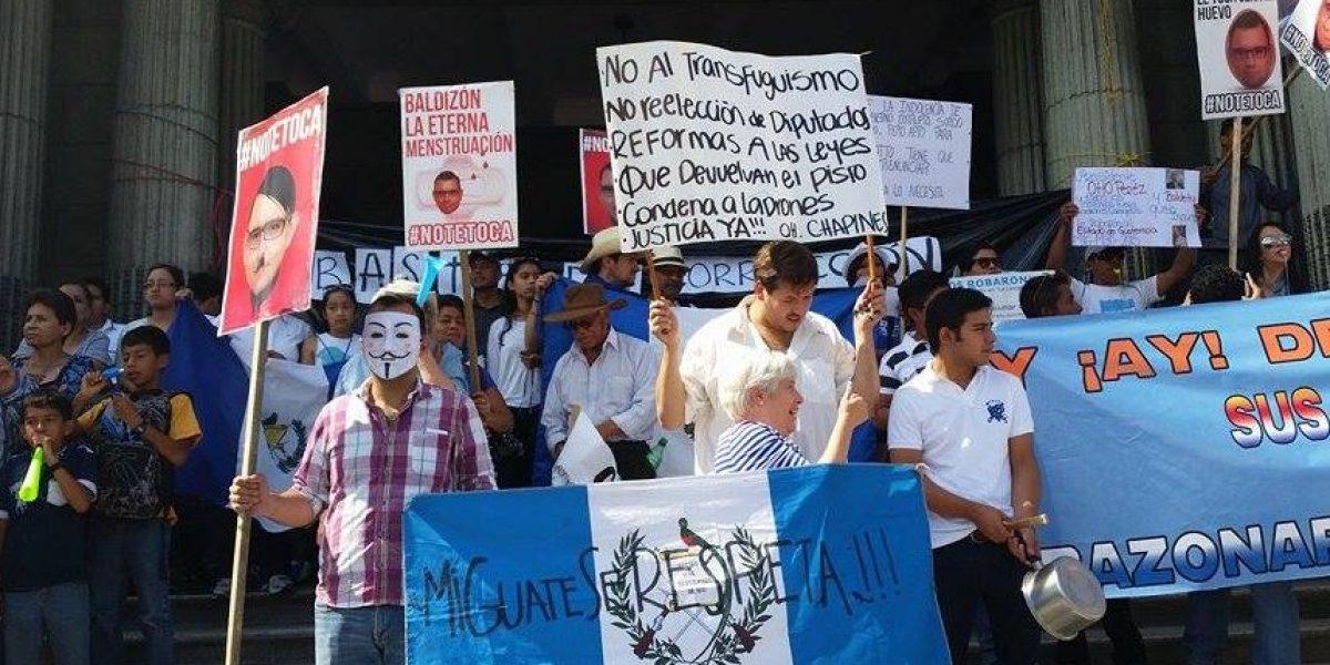 ¡Imparables! Guatemaltecos unen sus voces una vez más contra la corrupción