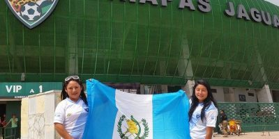 El estadio de Tuxtla se cubre de azul y blanco