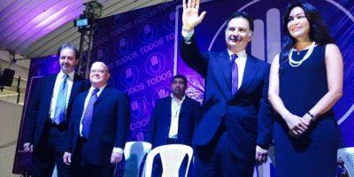 Todos proclama a su binomio presidencial y a Portillo como candidato a diputado