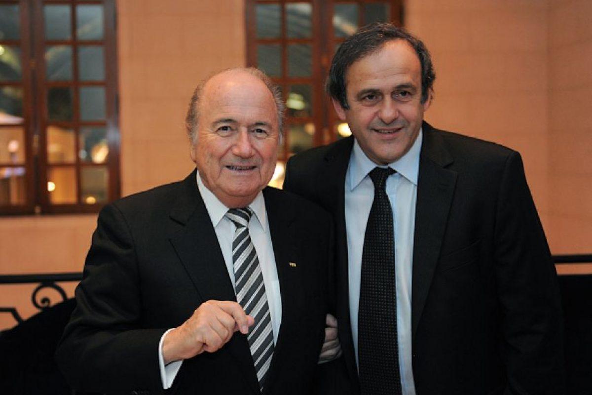 En las elecciones, Platini y la UEFA hicieron público su apoyo al príncipe Ali Bin Al-Hussein, candidato a la presidencia de la FIFA. Foto:Getty Images