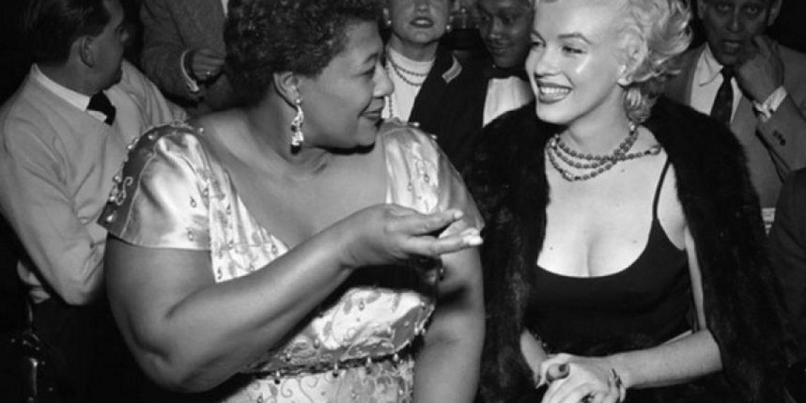 El club que no dejó entrar a Ella Fitzgerald porque era negra: La historia real es que ya habían actuado muchos artistas de color en el lugar. El gerente del club, Charlie Morrison, simplemente creía que Ella no tenía el suficiente glamour. Lo que es cierto es que Monroe intercedió por ella. Foto:Flickr – Archivo