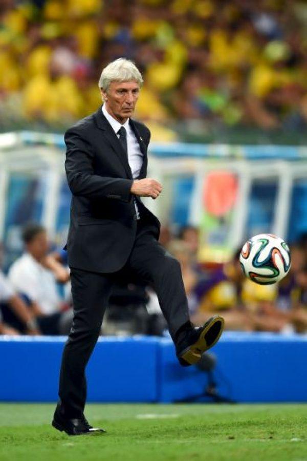 El entrenador de Ecuador nació en Villa Domínguez, Argenina Foto:Getty Images