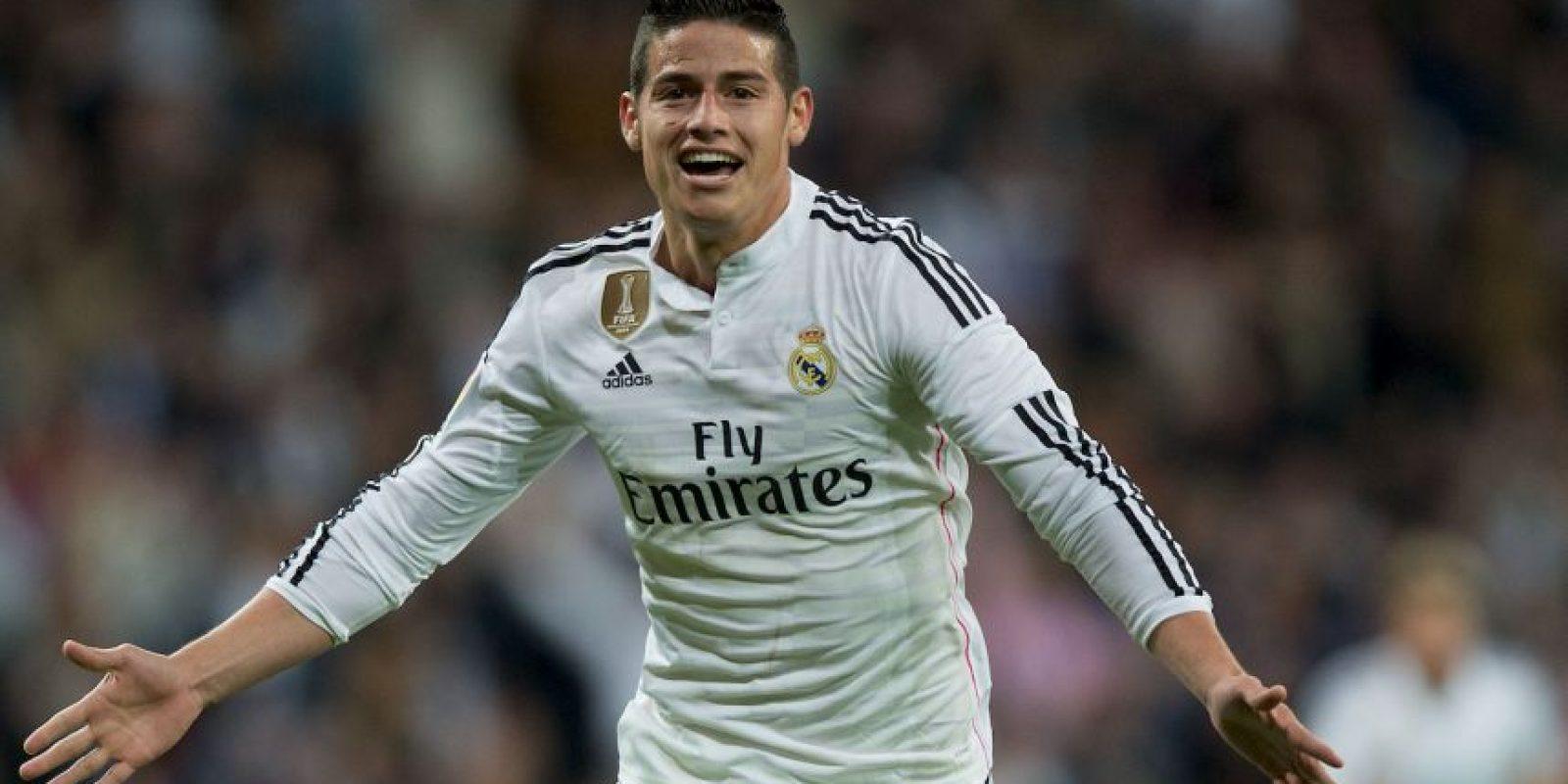 MEDIO: James Rodríguez (Real Madrid) Foto:Getty Images