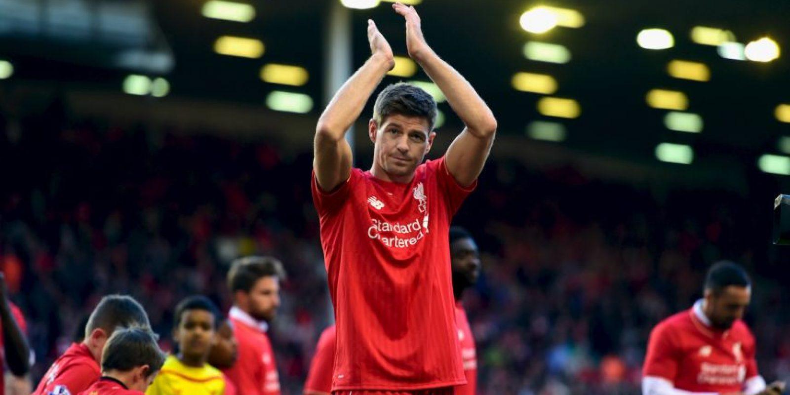 Steven Gerrard Foto:Getty Images