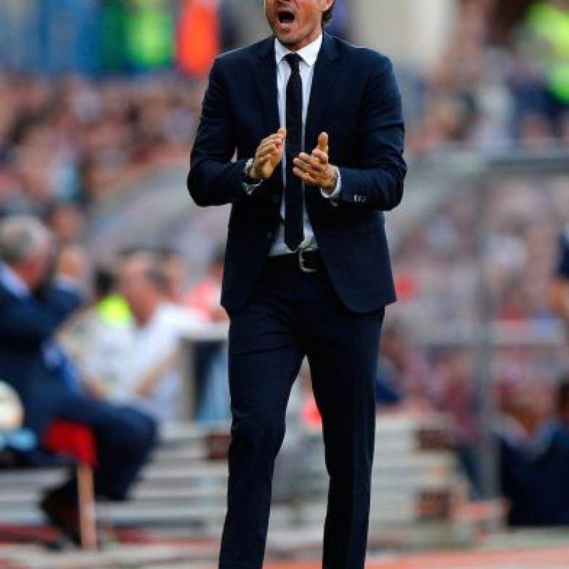 Esta es la primera final de Luis, como entrenador, en este certamen. Anteriormente disputó cuatro finales como futbolista: ganó tres y perdió una. Foto:Getty Images
