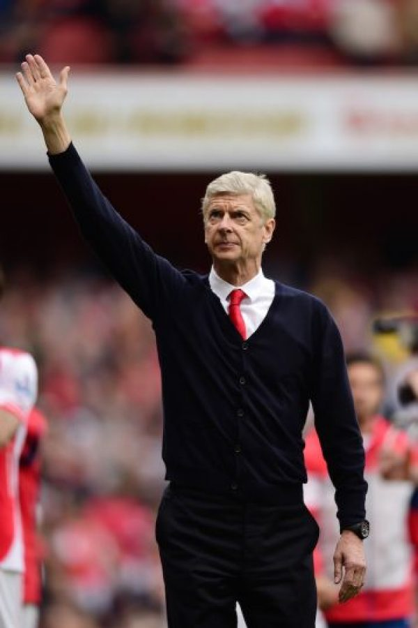El francés Arsene Wenger, técnico del Arsenal Foto: Getty Images
