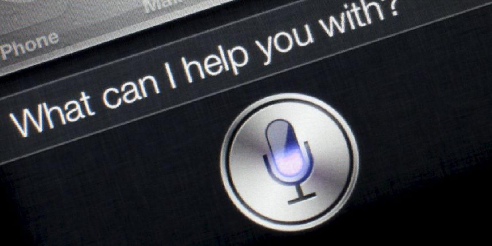 Ahora existe Siri. Foto:vía Apple