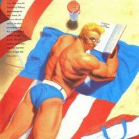 """Otra imagen del mismo, mostrando toda su """"masculinidad"""": Foto:vía Marvel"""