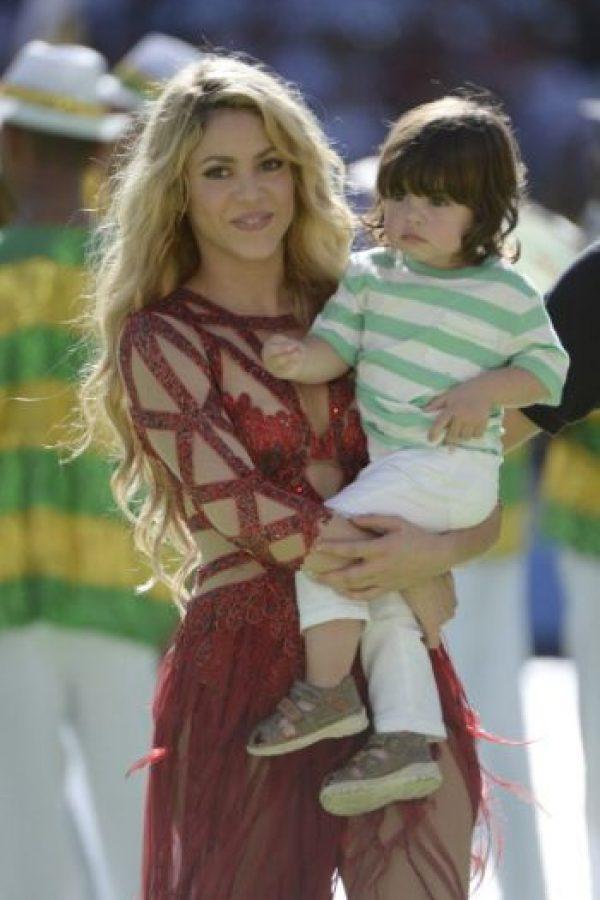En enero de 2013 nació el primer hijo de ambos, Milan. Foto:Getty Images