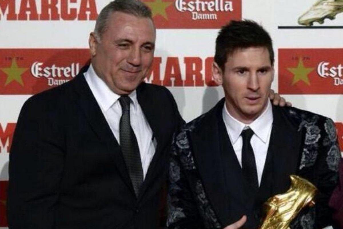 Varias veces ha confesado su admiración por Lionel Messi. Foto:Vía twitter.com/Hristo8Official