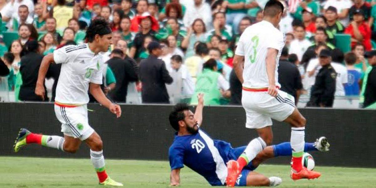 Guatemala se queda corta contra México en Tuxtla