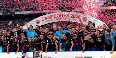 VIDEO. La celebración del Barcelona en dos minutos