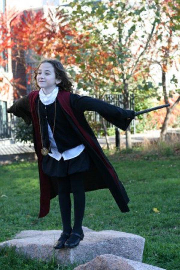 Como la poderosa Hermione Granger. Foto:vía ShoppingDiva
