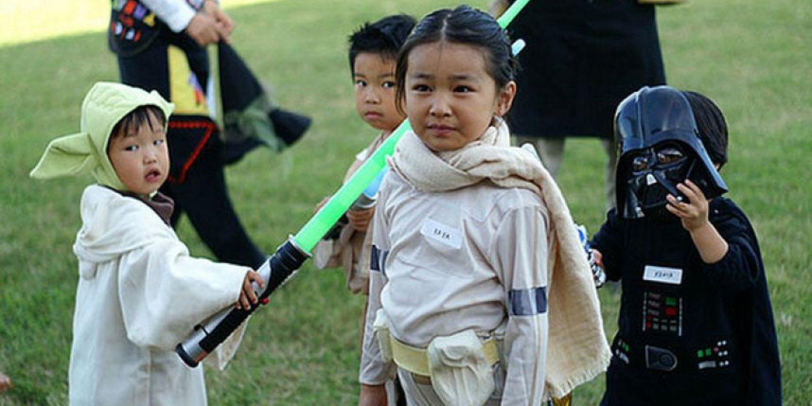 Una joven padawan dispuesta a luchar. Foto:vía Flickr/Barron