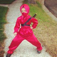 Una ninja. Foto:vía Etsy