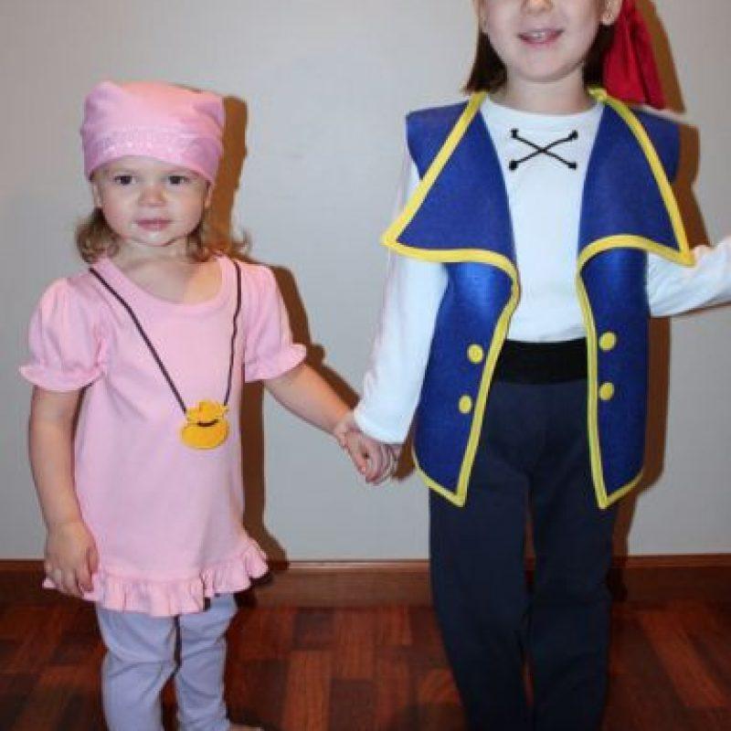 Como piratas. Foto:vía Etsy