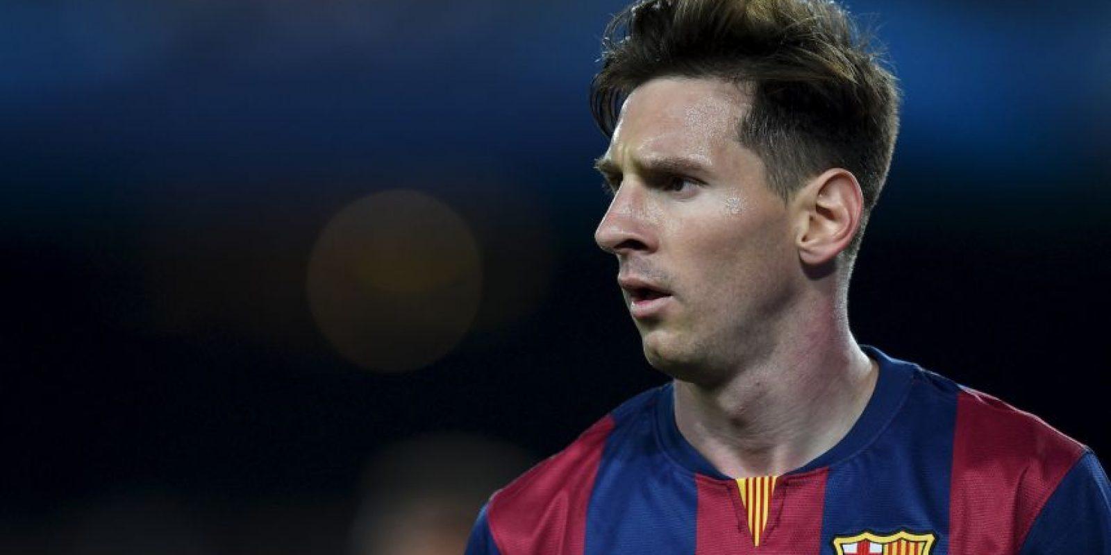 Esta campaña, Leo marcó 43 goles en la Liga. Foto:Getty Images