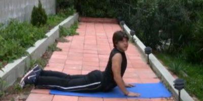 Siguió entrenando. Foto:vía Youtube/Richard Sandrak