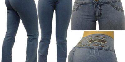 """Sus jeans se siguen usando. Y mejor aún: los jeans colombianos o """"levantacola"""" son los más vendidos. Foto:vía MercadoLibre"""