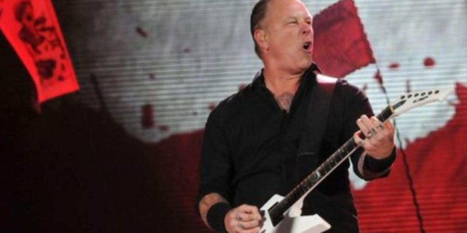 Metallica: En una aduana, las autoridades no dejaron entrar a una niña sueca por tener este nombre. Tuvieron que cambiar de opinión luego de que sus padres les explicaron que ese era su nombre real. Foto:vía Getty Images