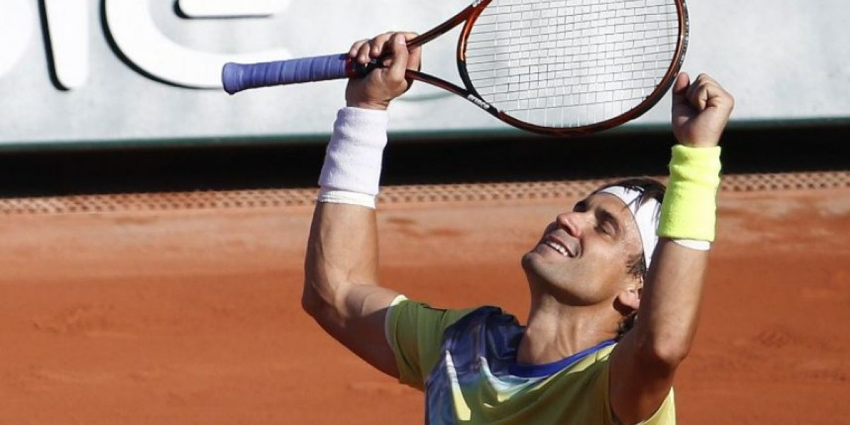 FOTOS. David Ferrer sella su pase a los cuartos de final