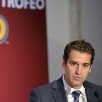 Las repercusiones por el escándalo de corrupción alcanzaron este lunes a Sanz, el secretario general de la Concacaf. Foto:AFP