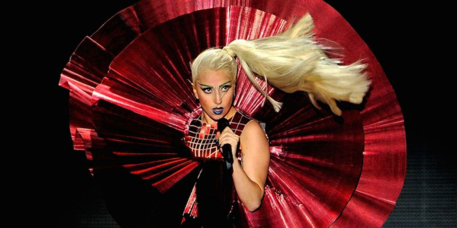 La estadounidense Lady Gaga, de 29 años de edad, ha ganado seis Premios Gramy y trece MTV Video Music Awards. Foto: Getty Images