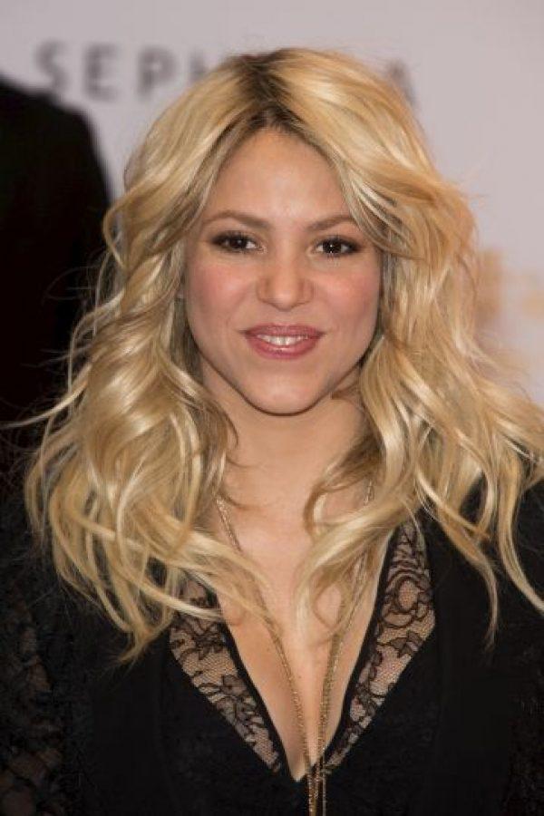13) Shakira @shakira – Más de 31 millones 621 mil seguidores. Foto:Getty Images