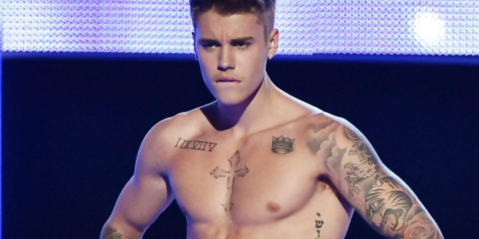 Bieber es un cantante canadiense de 21 años de edad que hasta el momento ha grabado tres álbumes de estudio. Foto:Getty Images