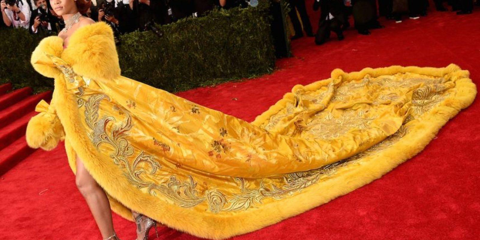 """La cantante barbadense Rihanna, de 27 años de edad, adquirió fama mundial en 2007 tras el lanzamiento de su tercer disco que incluye sencillos como """"Umbrella"""" y """"Don't stop the music"""". Foto:Getty Images"""