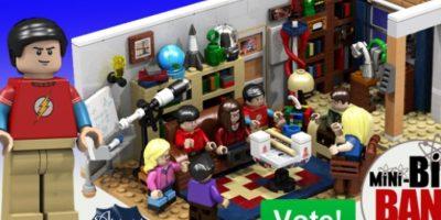 """Lego tendrá su propia versión de la serie """"The Big Bang Theory"""""""