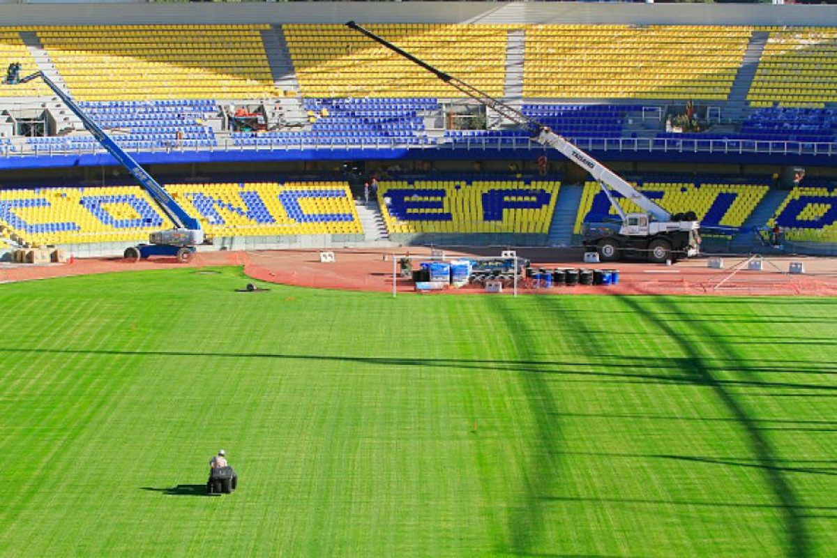 Estadio Ester Roa de Concepción Foto: Getty Images