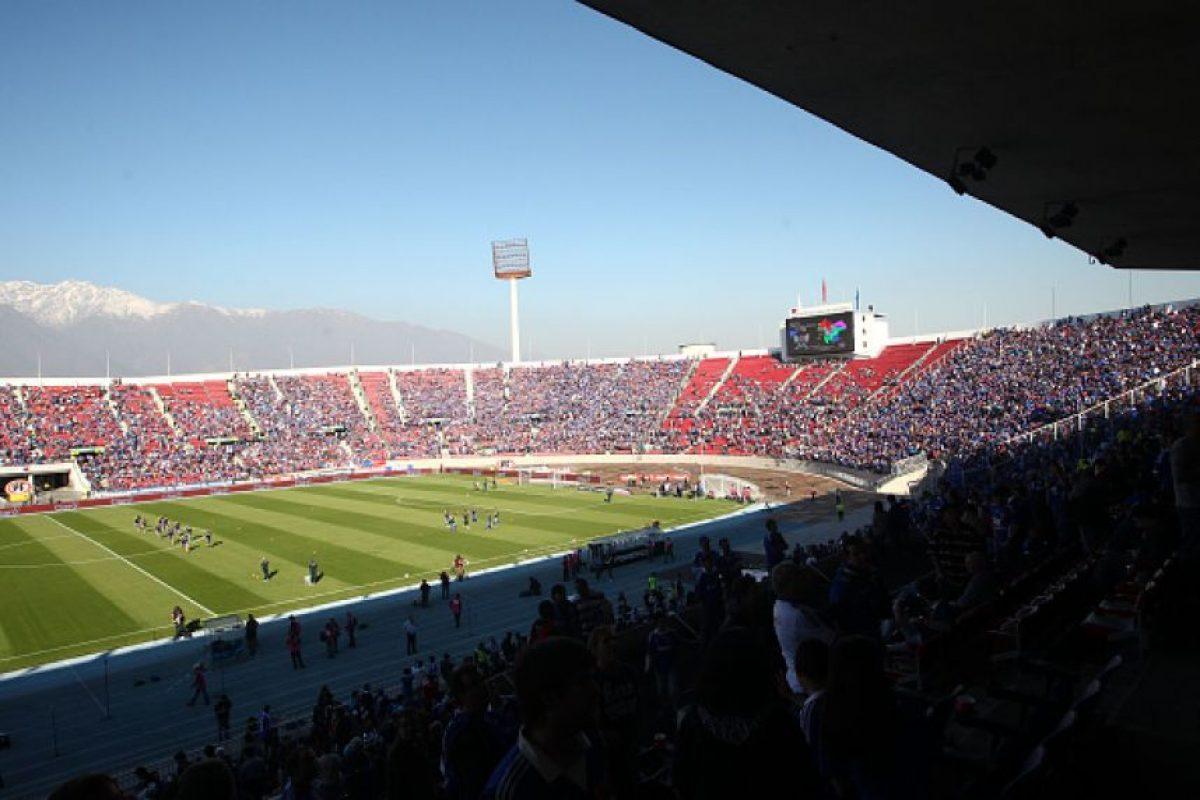 Estadio Nacional de Santiago Foto: Getty Images