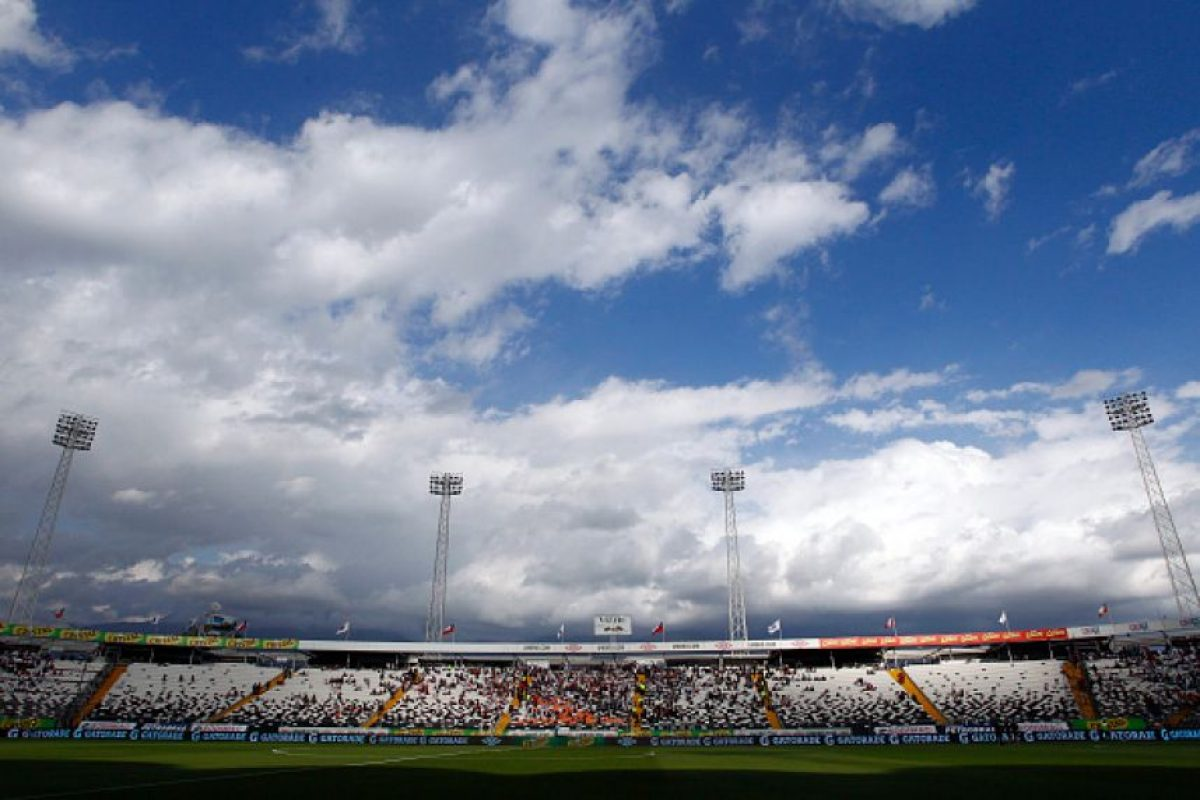 Estadio Monumental de Santiago Foto: Getty Images