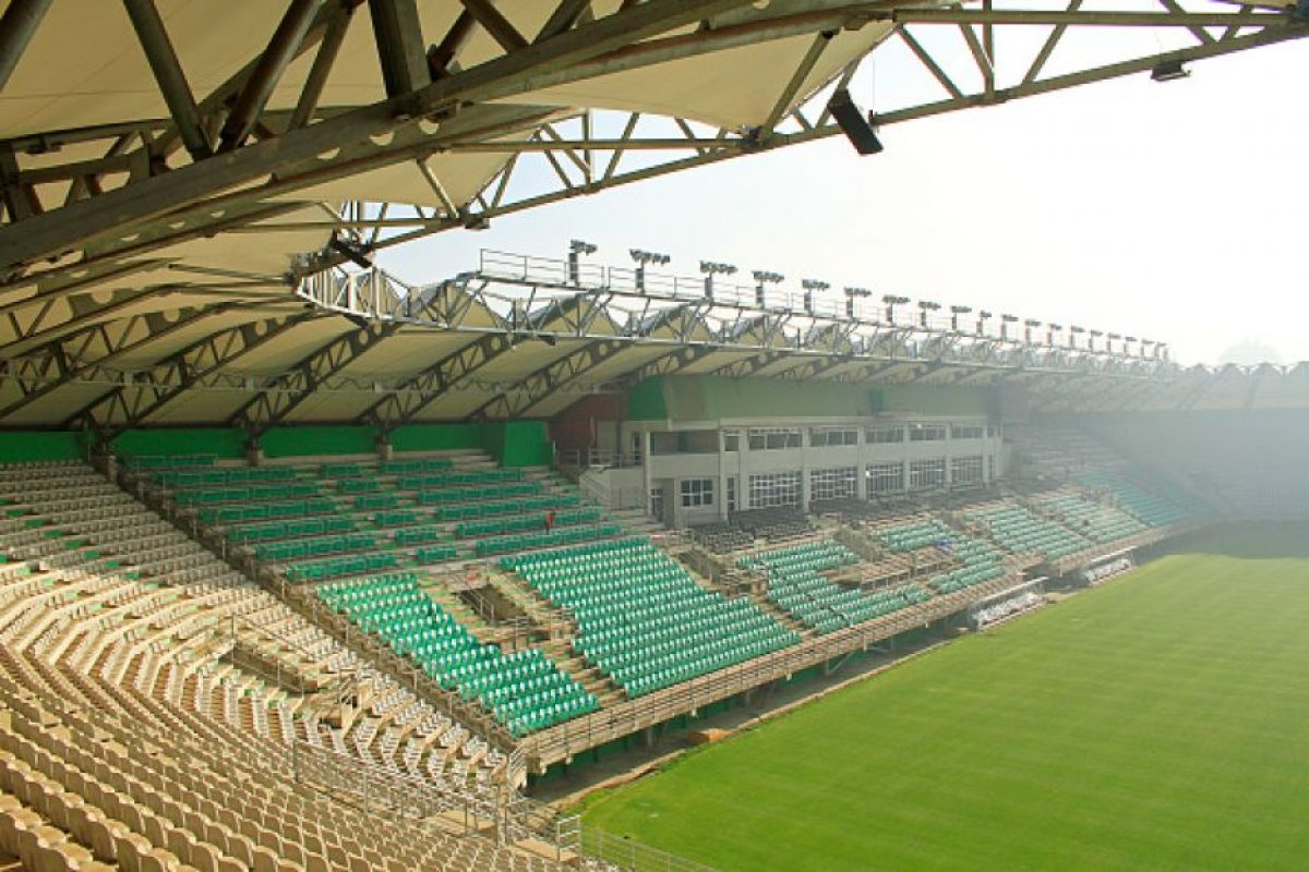 Estadio Germán Becker de Temuco Foto: Getty Images