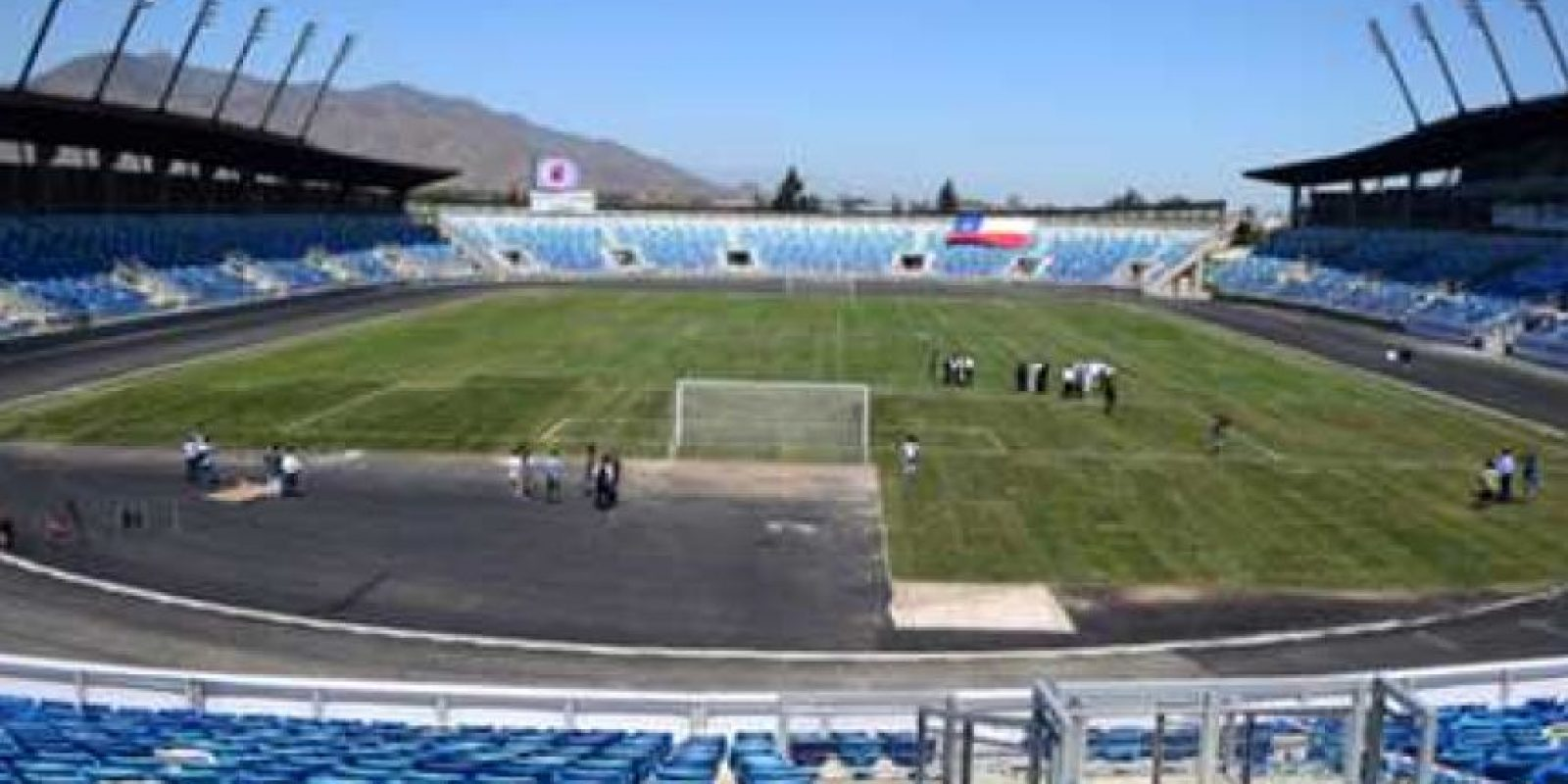 Estadio El Teniente de Rancagua Foto:www.ca2015.com
