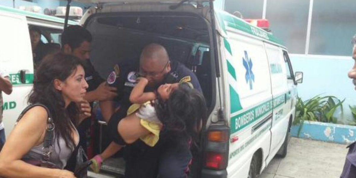 Ataque en Fraijanes deja a niña herida de bala