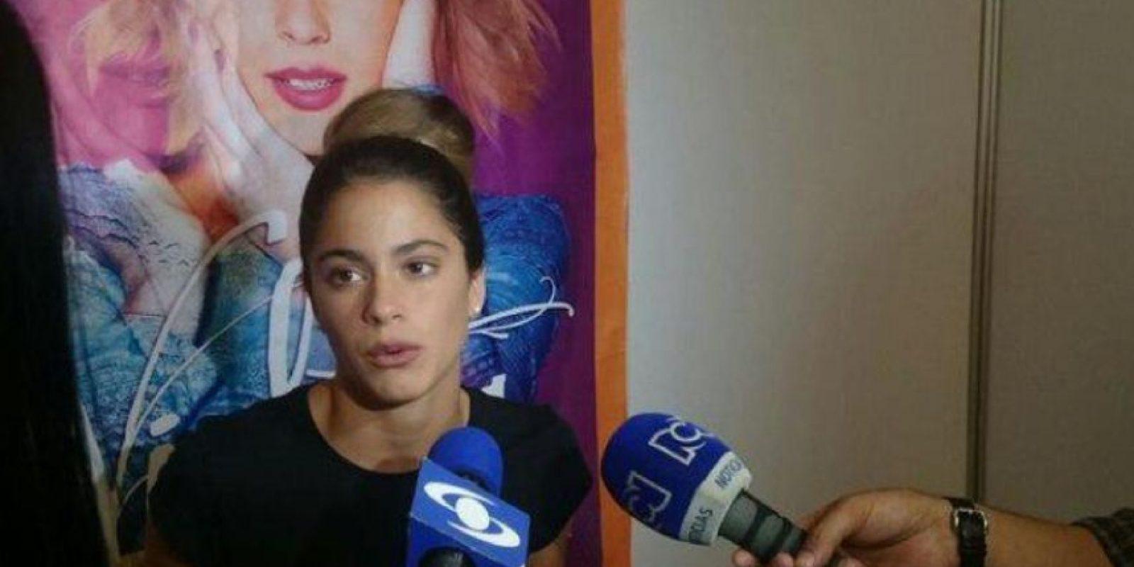 Aquí, en entrevistas en Colombia. Foto:vía Twitter