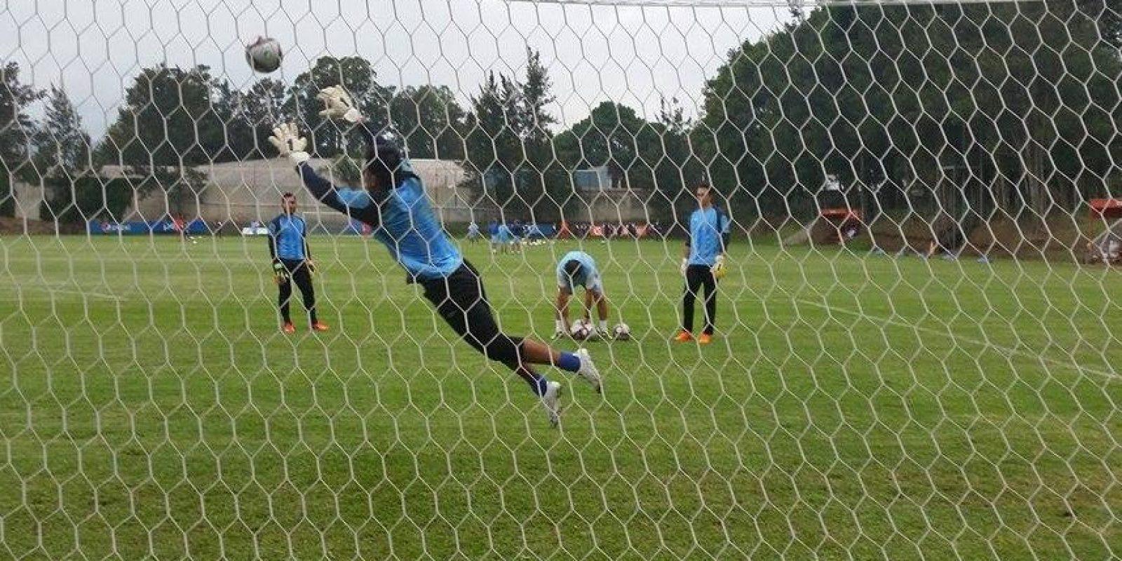 La selección nacional comenzó la etapa final de su preparación para la serie. Foto:Fernando Ruiz