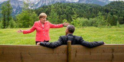 FOTOS: Así se burlan de la imagen viral de Barack Obama y Angela Merkel