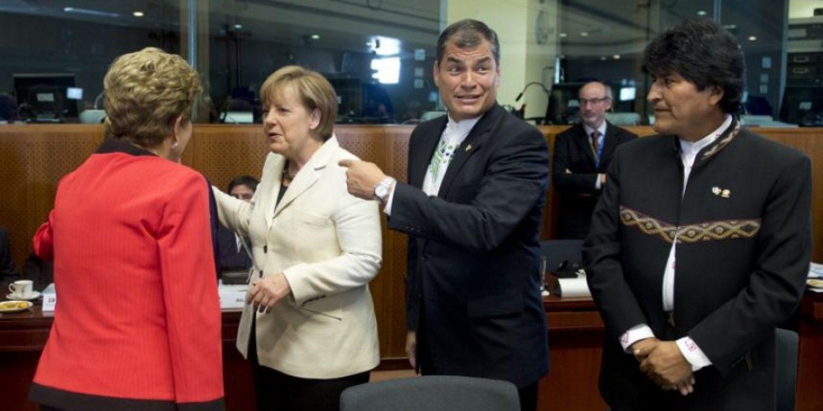 Hasta la fecha, 26 de los 33 miembros de la CELAC han celebrado acuerdos comerciales con la UE; los países del Mercosur (Argentina, Brasil, Paraguay, Uruguay y Venezuela), Cuba y Bolivia todavía no lo han hecho. Foto:AFP