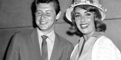 Elizabeth Taylor y Eddie Fisher Foto:Agencias