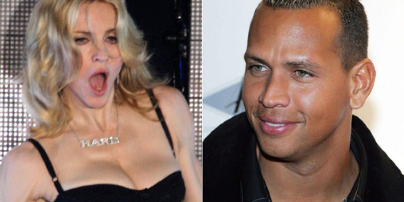 Madonna y Alex Rodríguez
