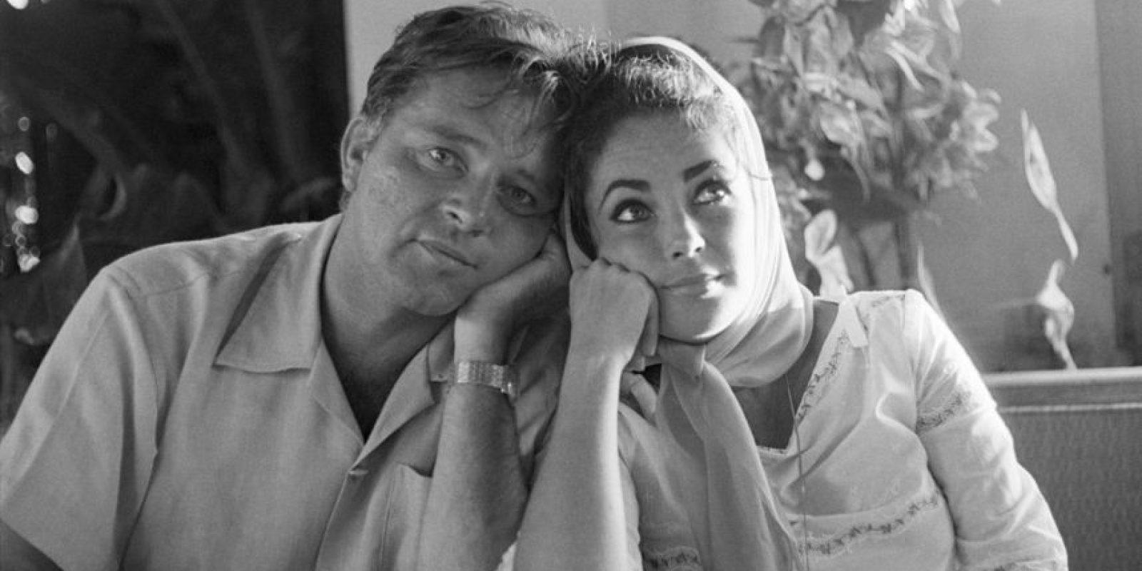 Elizabeth Taylor y Richard Burton Foto:Agencias