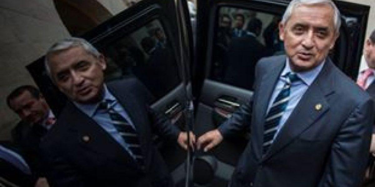 Corte de Constitucionalidad le dio trámite a un amparo que no fue presentado por Otto Pérez
